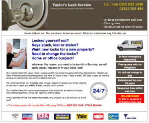 Locksmith in Bromley