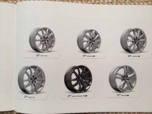 Just half a double-page spread about wheels
