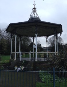 Bowie bandstand